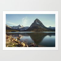Many Glacier Art Print