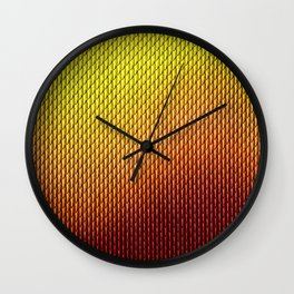 Halloween Fire Dragon Scale Mail Armor Costume Wall Clock