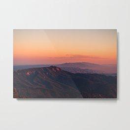 Sandia Peak Metal Print