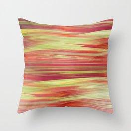 Landscape pattern Throw Pillow