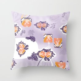 Tadpole Throw Pillow