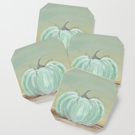 Ready for Fall Cinderella pumpkin Coaster