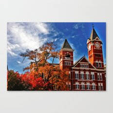 Samford Hall in the Fall Canvas Print