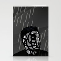 kendrick lamar Stationery Cards featuring Kendrick Lamar by Mr Mamu