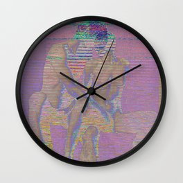 raw touch Wall Clock