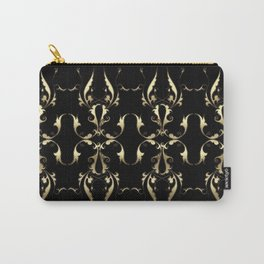 Gold Ornaments Pattern Carry-All Pouch