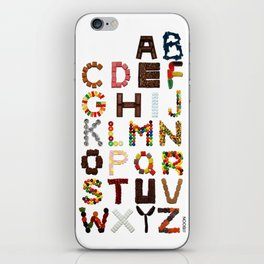 Candy Alphabet iPhone Skin