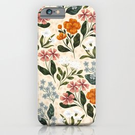 Wild Flowers ~ vol2. iPhone Case