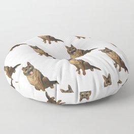 The German Shepard Floor Pillow