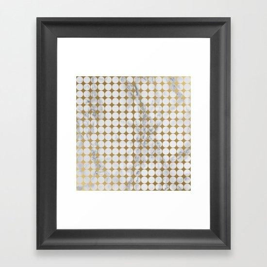 Marble #13 Framed Art Print