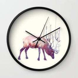 Elk // Solitude Wall Clock