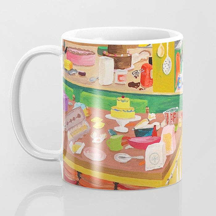 A Cat in the Kitchen Coffee Mug