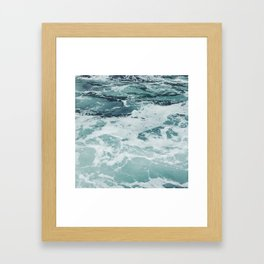 Aquamarine Framed Art Print