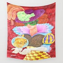 Pez Hembra, Alex Chinea Pena Wall Tapestry