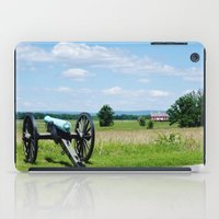battlefield iPad Cases featuring Gettysburg Battlefield 3 by Scenic Sights by Tara