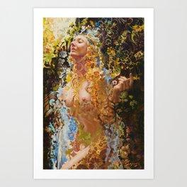 Psychotropic Veil Art Print