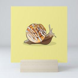 Cinnamon Bun Snail Mini Art Print