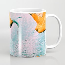 blue structure Coffee Mug