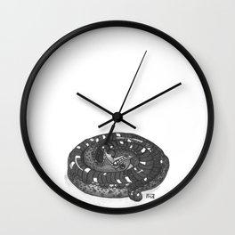 Inktober 2016: Play Dead Hognose Wall Clock