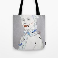 snake Tote Bags featuring SNAKE by SEVENTRAPS