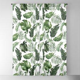 Tropical Leaf Blackout Curtain