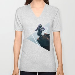 Effervescent in the Pure of Water Unisex V-Neck