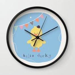 Dennis Duck Wall Clock