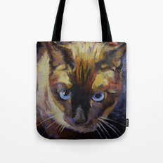 Seal Point Siamese Tote Bag