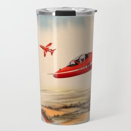 BAe Hawk Aircraft The Red Arrows Travel Mug