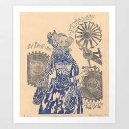 Ada, Countess Lovelace, Enchantress of Numbers Art Print
