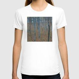 Gustav Klimt - Beech Grove T-shirt