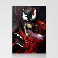 carnage Stationery Cards featuring Maximum Carnage by JHC Studio