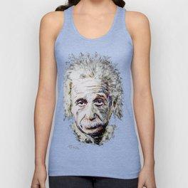 Albert Einstein - brainstorm Unisex Tank Top