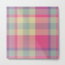 Plaid 14 Metal Print