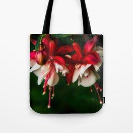 More June Fuchsias Tote Bag