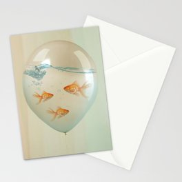 balloon fish 02 Stationery Cards