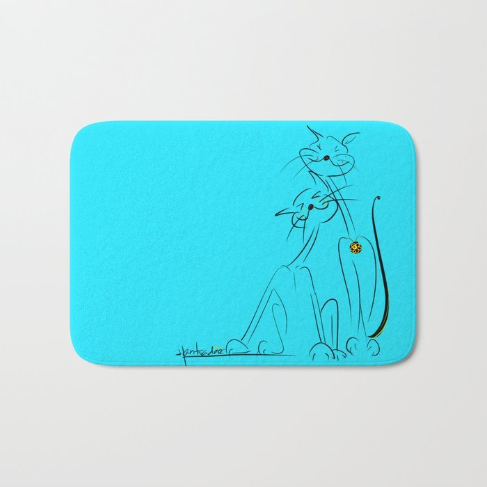 scratchy Bath Mat