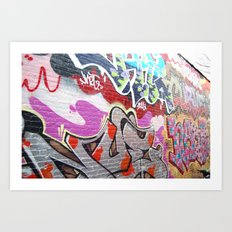 graffiti3 Art Print