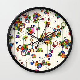 Connected Clusters Wall Clock