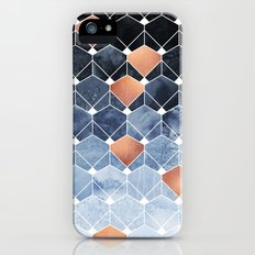 Copper Diamonds Slim Case iPhone SE