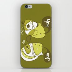 Pea Brain Patty and Bird Brain Bimmy iPhone & iPod Skin