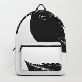 Razorback Wild Boar Scratchboard Backpack