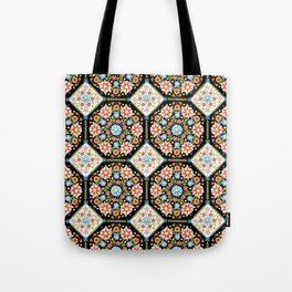 Millefiori Tile Pattern Tote Bag