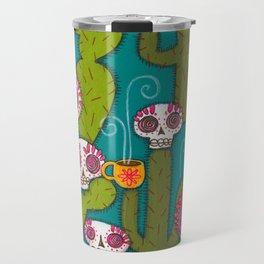 Skulls, Cacti and Atomic Coffee Travel Mug