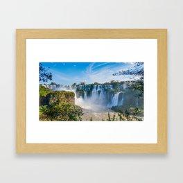 Iguazu Falls Panorama Art Print Framed Art Print
