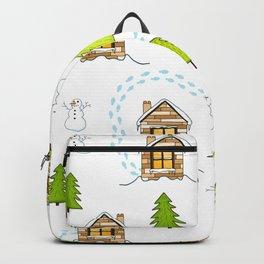 Alpine Ski Resort Backpack
