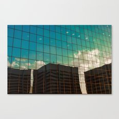 glass sky Canvas Print