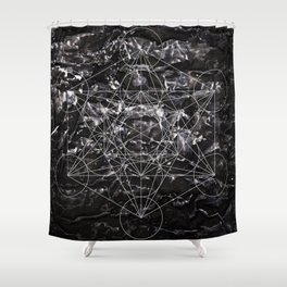 Metatronic Shower Curtain