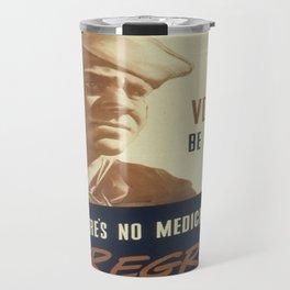 Vintage poster - STDs Travel Mug