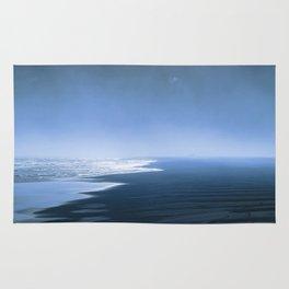 Blue ocean mood Rug